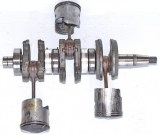 Mercury ME40M Crankshaft 2